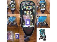 Graco Evo Mini Harlequin Stroller