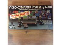 Atari cx-2600 boxed (as new)