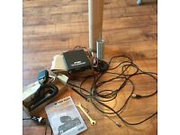 CB Radio Mobile Tranceiver M-130 Plus together with other components