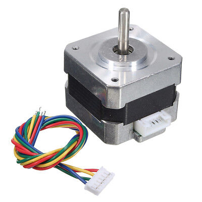 Nema 17 Bipolar Stepper Step Motor 28n.cm 0.4a 12v For Cnc 3d Printer Diy