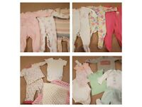 Bundle of girls 6-9 months clothes