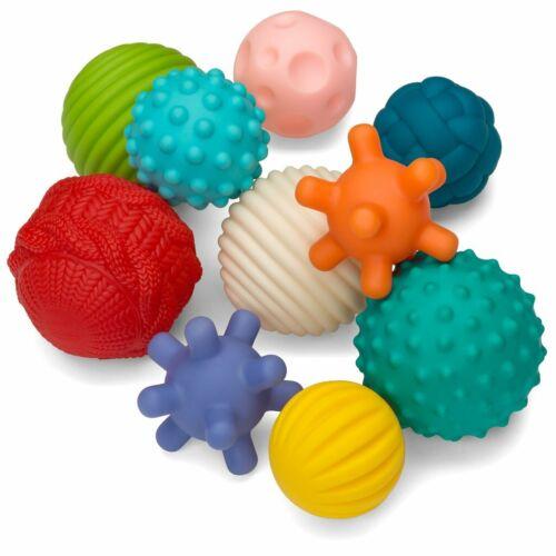Infantino Go GaGa Textured Ball 10-Piece Set *BRAND NEW*