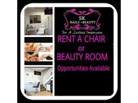 room/chair to rent in Whitefield salon