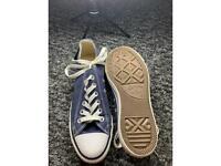 Blue Converse Size 5