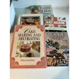 Bargain five cook books