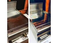 Hobart commercial electric grill fryer bundle - ribbed grooved and flat surface