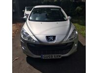 Silver Peugeot 308 1.6 VTI 120 Sport For Sale - Excellent condition inside and out, drives like new