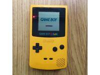 Retro 1998 Gameboy Colour