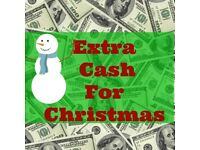 Earn extra cash for Christmas