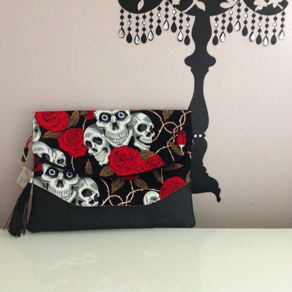 Handmade bags, fabulous Fabric, clutch bag
