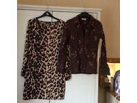 Various dresses/tunics.
