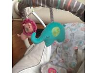 Ingenuity baby swing, lightly used w box