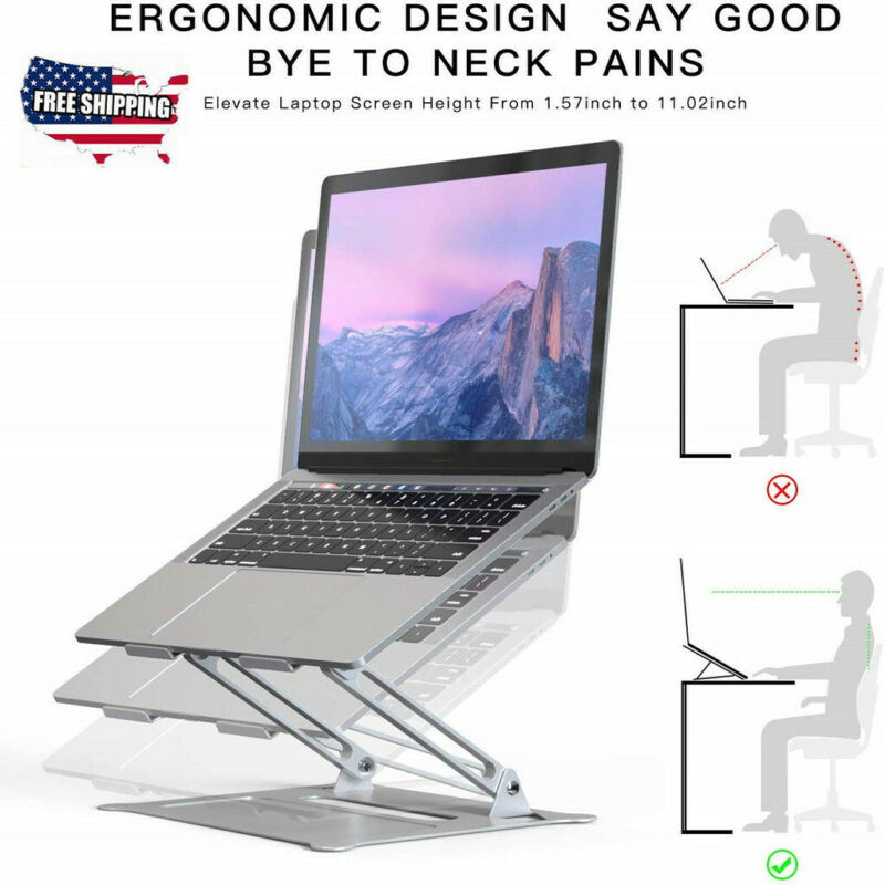 Laptop Stand, Boyata Laptop Holder, Multi-Angle Stand with H