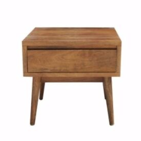 Ex Display Solid Wood Drawer table / Lamp End Occasional Coffee Table