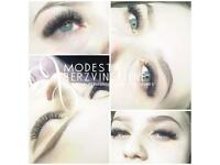 Russian Volume Eyelash extensions/ Permanent make up