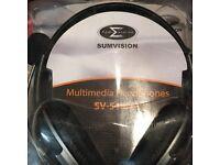 Sumvision Multimedia Headphones
