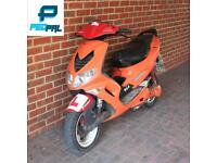 Peugeot speedfighter 70cc reg as 50cc moped scooter vespa honda piaggio yamaha gilera