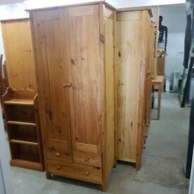 Solid wood Wardrobe x 4