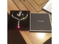 Jon Richards diamanté jewellery set