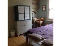 Calm double room in lesbian home in Nunhead, rent inc. bills/wifi/all amenities, garden & cat!