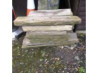 yorkshire stone edging stones