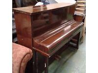 Challen Upright Mahogany Piano