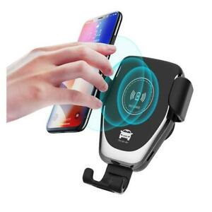 Wireless Car Charger 10W Fast Wireless Charger Car Mount Air Vent Gravity Design Phone Holder - $29.99