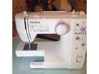 Toyota 2000 sewing machine Oekaki