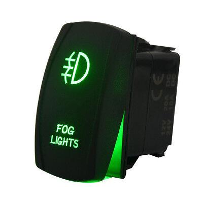Laser Rocker Switch Backlit Car Running Daytime Fog Driving Light Bar On Off 20A