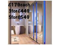 Salon mirrors. LED Mirrors. Mirror units