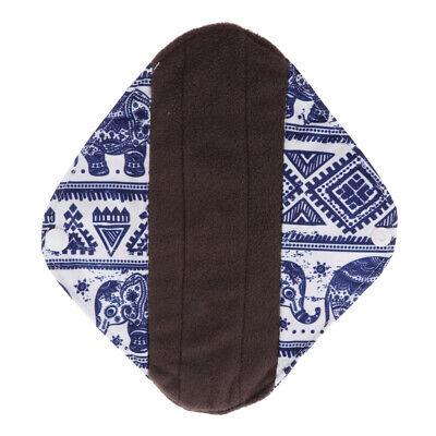 Wiederverwendbare Tuch Menstruation Pads (Wiederverwendbare Bambuskohle Damenbinden Tuch Menstruation Pads)