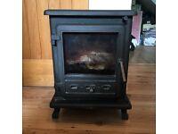 Firefox 5 multi fuel stove - log burner - RRP £350+
