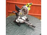 Guild 210mm Sliding Mitre Saw with Laser - 1700W - in immaculate condition.