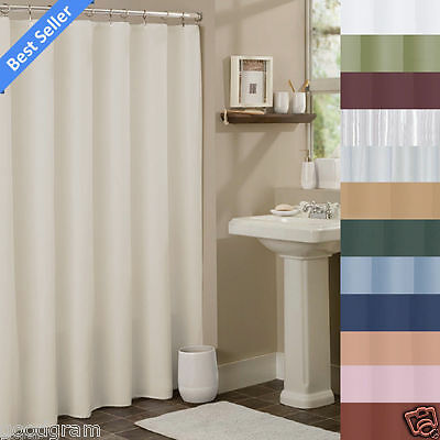 Hotel Collection Fabric Shower Curtain Liners By GoodGram - Assorted Colors