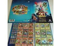Disney 20th Anniversary collectable card album, FULL plus spares