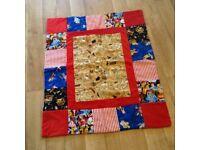 Child's new bespoke quilt