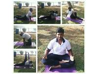 Yoga at home