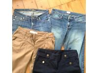 Only £2 Joblot woman's jeans /trousers size 12