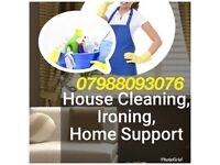 I am experienced cleaner, good to ironing, cooking