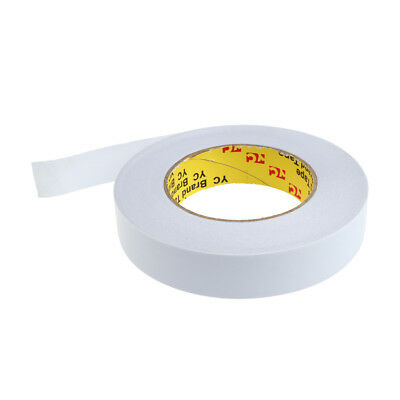Width 25mm Double Sided Strong Self Adhesive Stick Foam Tape Roll - 50m