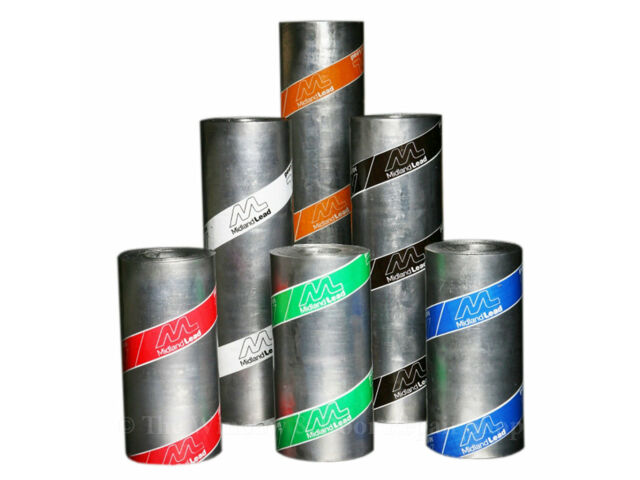 CODE 3 /& 4 LEAD FLASHING ROLL FOR ROOF ROOFING 3M /& 6M ROLLS MIDLAND