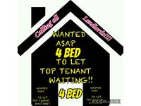 Calling all landlords 4 bed rent middlesbrough needed asap