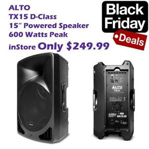 Black Friday - Starts Tuesday 10AM in store ONLY / Powered Speakers, Wireless Microphone, DJ Lighting, Amplifier, Mixers