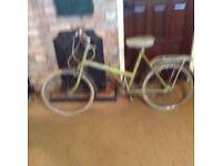Vintage Raleigh Twenty Shopper Bike