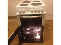 Bush AE56TW Electric Cooker (50cm)