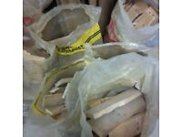 7 large bags of fire wood