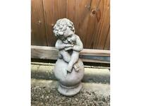 Stone garden ornament