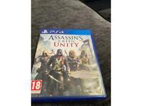 Assassins creed unity PS4