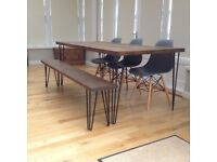 Scaffold Board Dining Kitchen Table