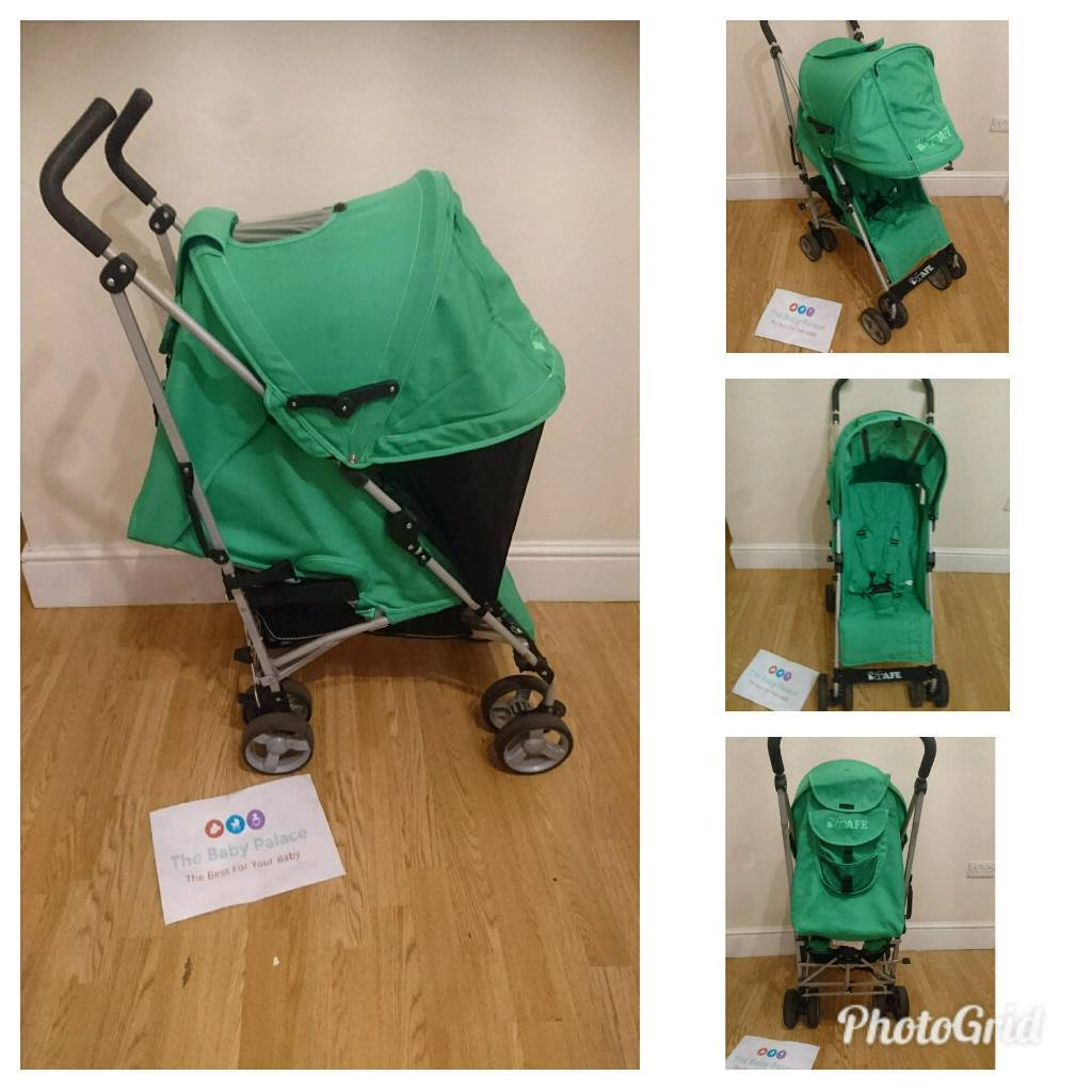 Isafe pushchair with extendable hood
